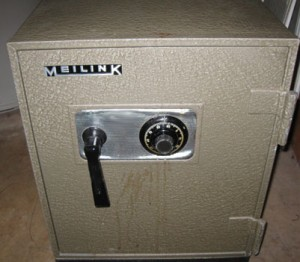 Meilink safe how to open